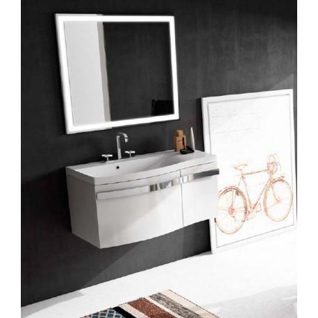 Mueble de baño Dune de 90 cms blanco brillo