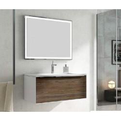 Mueble de baño Galaxy suspendido Elm oscuro
