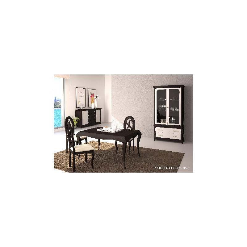 Muebles para comedor estilo isabelino modelo Lucena