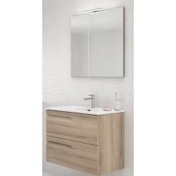 Mueble de baño Vitale fondo reducido.