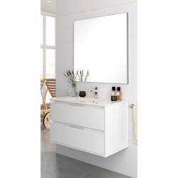 Mueble de baño Bolton lacado blanco