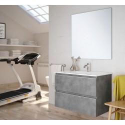 Mueble de baño Dundee lacado blanco