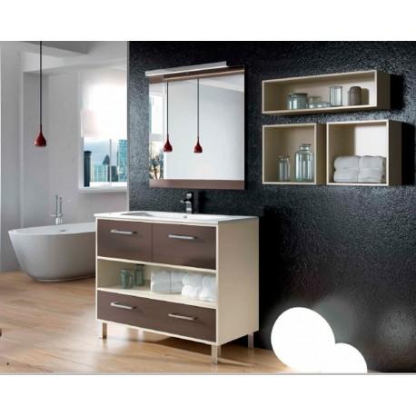 Mueble de baño Kira Panna y Pardo