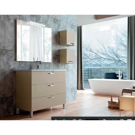 Mueble de baño Luna 3 cajones